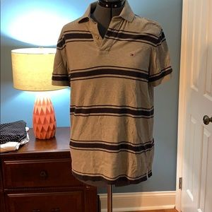 Size M blue and grey Tommy Hilfiger polo